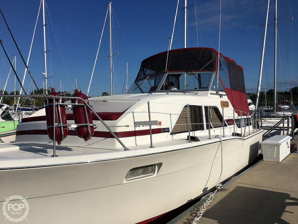 1977 Chris Craft boat for sale, model of the boat is 350 Catalina & Image # 4 of 28