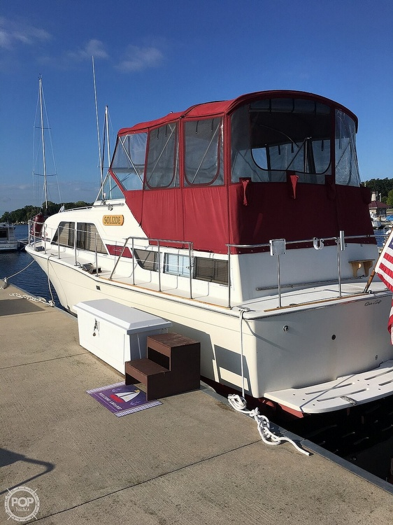 1977 Chris Craft boat for sale, model of the boat is 350 Catalina & Image # 2 of 28