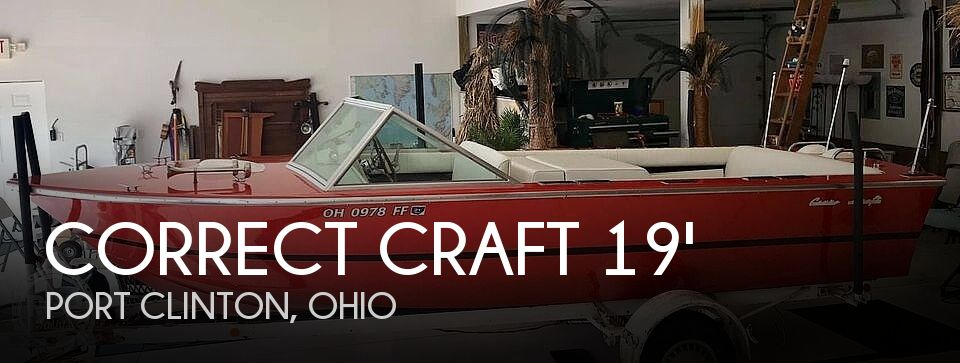 Used Correct craft Boats For Sale in Ohio by owner | 1972 Correct Craft 19' Marauder