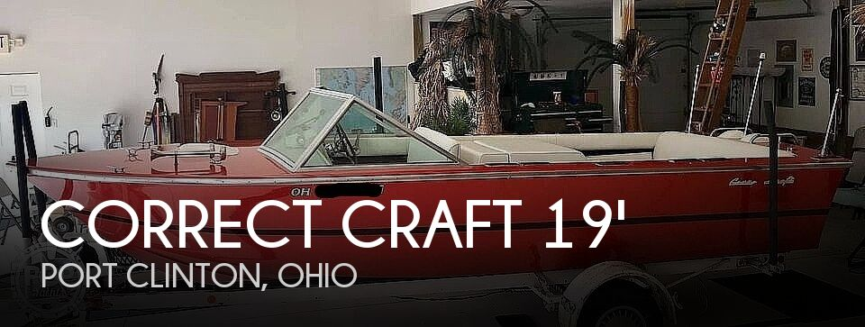 1972 Correct Craft boat for sale, model of the boat is 19' Marauder & Image # 1 of 18