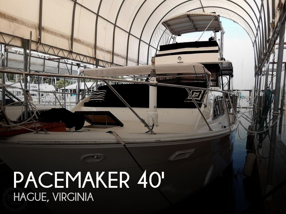 Used Deck Boats For Sale by owner | 1976 40 foot Pacemaker Flush Deck Motor Yacht