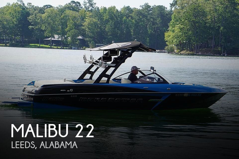 Used Boats For Sale in Birmingham, Alabama by owner | 2015 Malibu Wakesetter 22 Vlx
