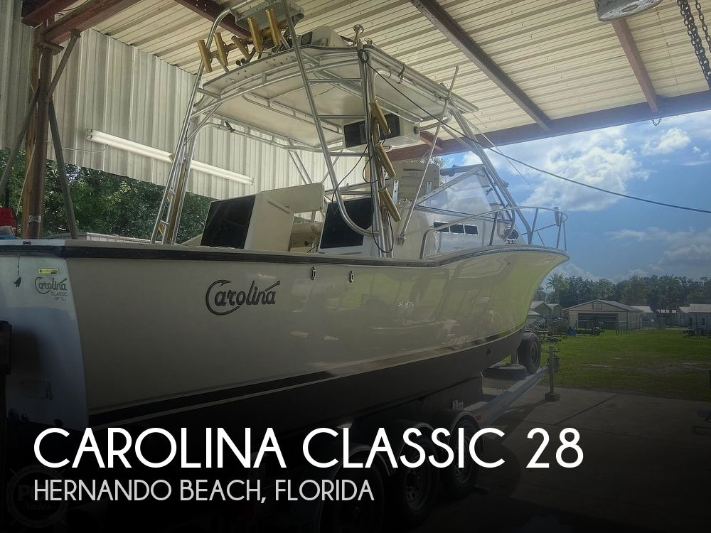 2002 Carolina Classic boat for sale, model of the boat is 28 & Image # 1 of 40