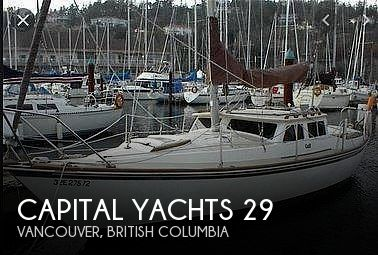 Used Capital Yachts Boats For Sale by owner | 1980 Capital Yachts Gulf 29