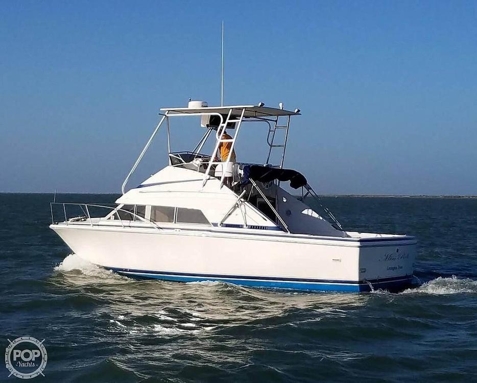 1984 Bertram boat for sale, model of the boat is Flybridge Cruiser & Image # 5 of 40