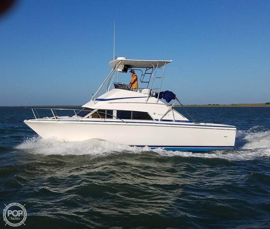 1984 Bertram boat for sale, model of the boat is Flybridge Cruiser & Image # 20 of 40