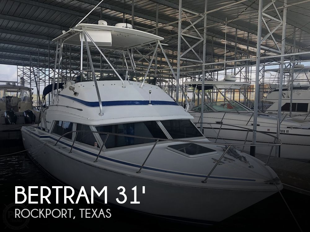 1984 Bertram boat for sale, model of the boat is Flybridge Cruiser & Image # 1 of 40