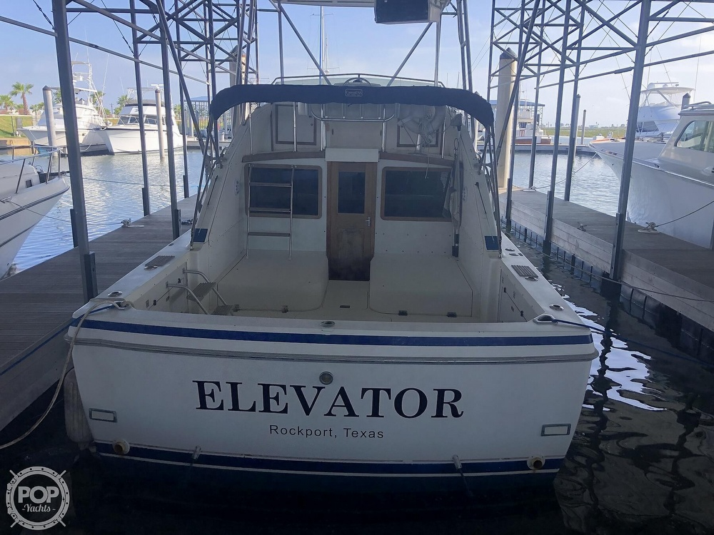 1984 Bertram boat for sale, model of the boat is Flybridge Cruiser & Image # 24 of 40