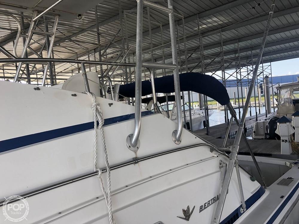 1984 Bertram boat for sale, model of the boat is Flybridge Cruiser & Image # 39 of 40