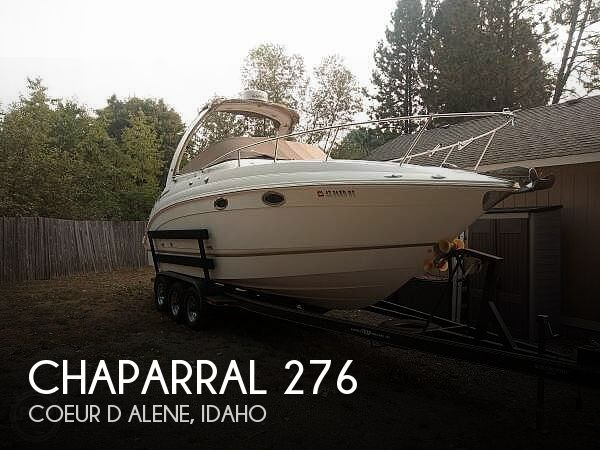 Used Chaparral 27 Boats For Sale by owner | 2006 Chaparral 276 Signature