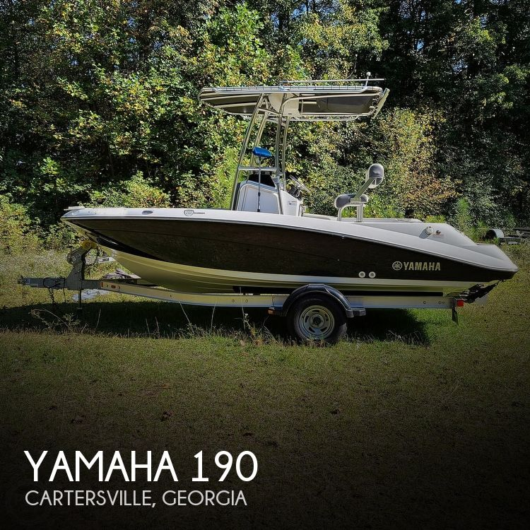 2017 Yamaha boat for sale, model of the boat is 190 FSH Deluxe & Image # 1 of 40