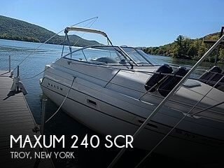 Used Boats For Sale in Springfield, Massachusetts by owner | 1998 Maxum 24scr