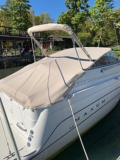 1998 Maxum boat for sale, model of the boat is 240 SCR & Image # 3 of 14