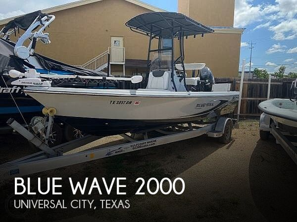 Used Blue Wave Boats For Sale by owner | 2016 Blue Wave Purebay 2000