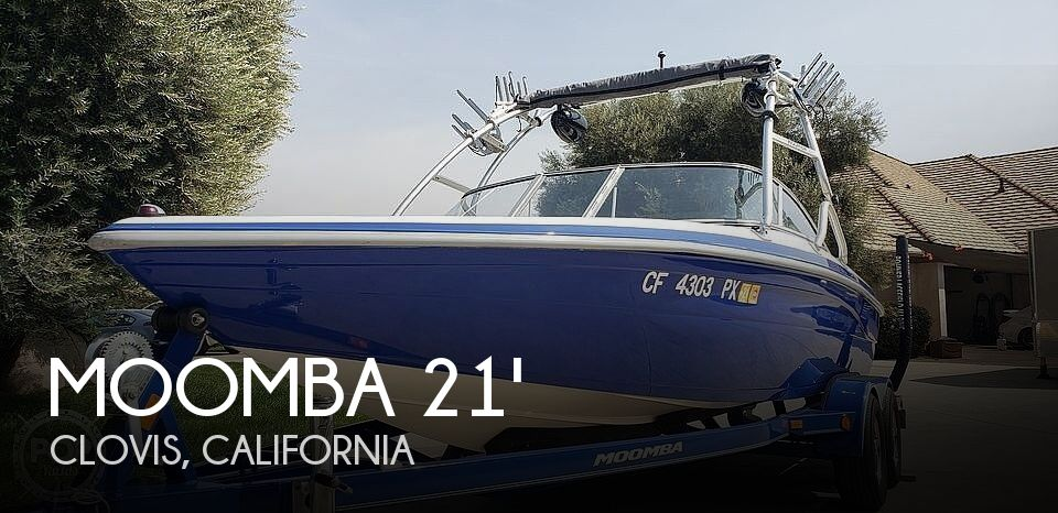 Used Boats For Sale in Fresno, California by owner | 2003 21 foot Moomba Mobius LSV