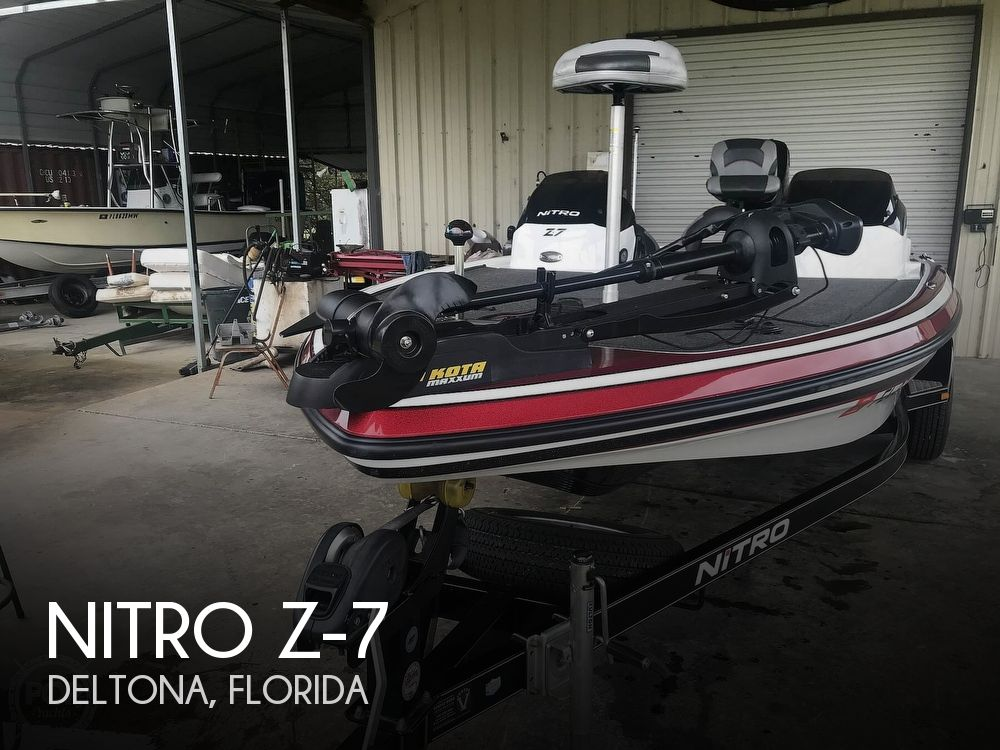 2015 Nitro boat for sale, model of the boat is Z-7 & Image # 1 of 41