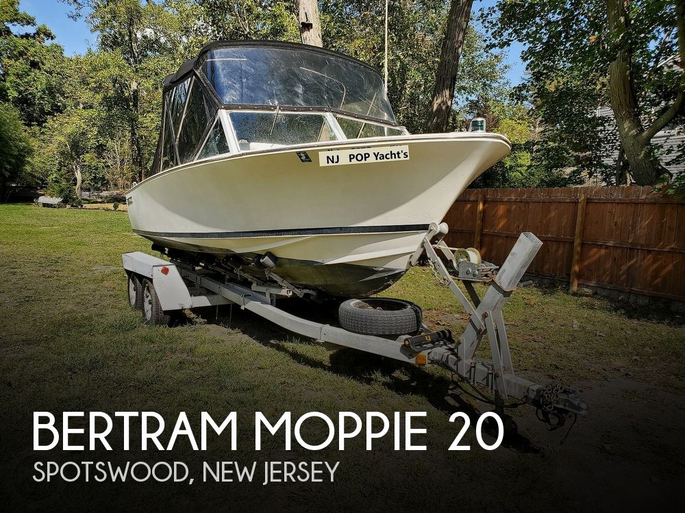 1966 Bertram boat for sale, model of the boat is Moppie 20 & Image # 1 of 41