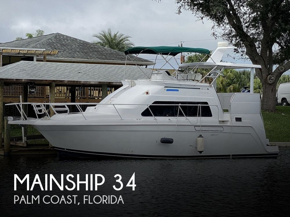 1998 MAINSHIP 34 MOTOR YACHT for sale