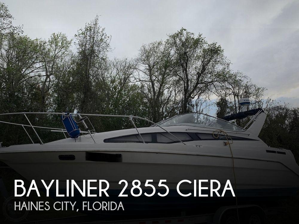 1995 Bayliner boat for sale, model of the boat is 2855 Ciera & Image # 1 of 40