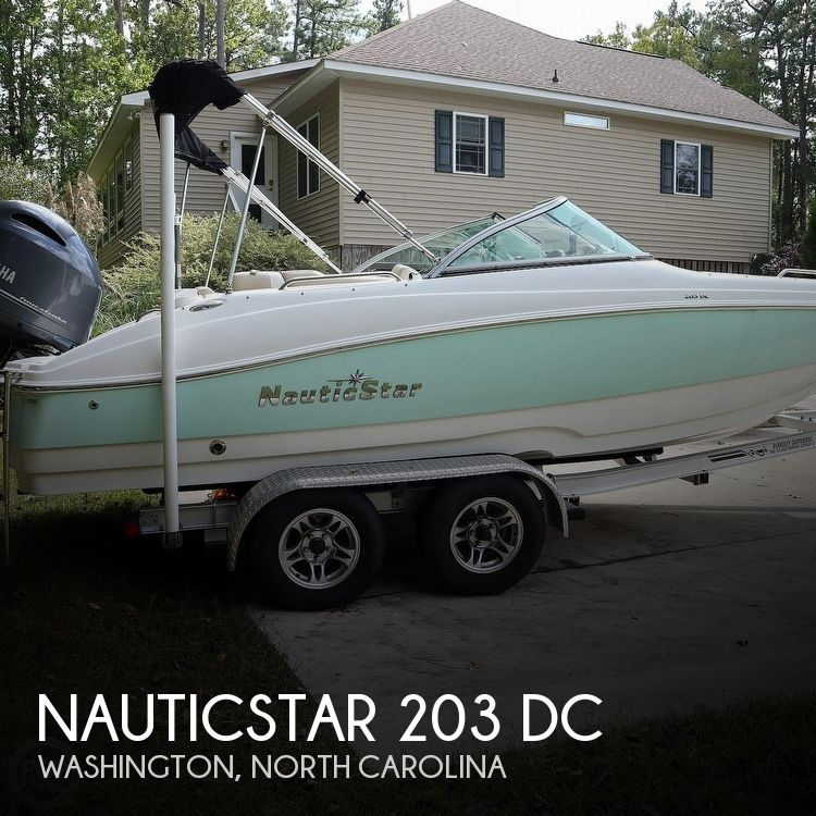 2016 Nautic Star boat for sale, model of the boat is 203 DC & Image # 1 of 41