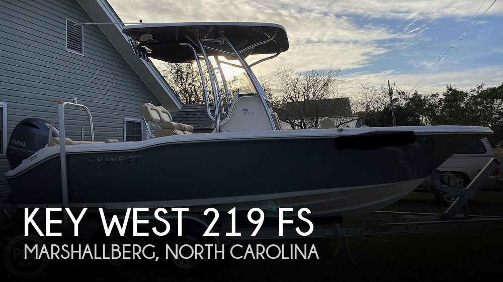 2017 Key West boat for sale, model of the boat is 219 FS & Image # 1 of 40