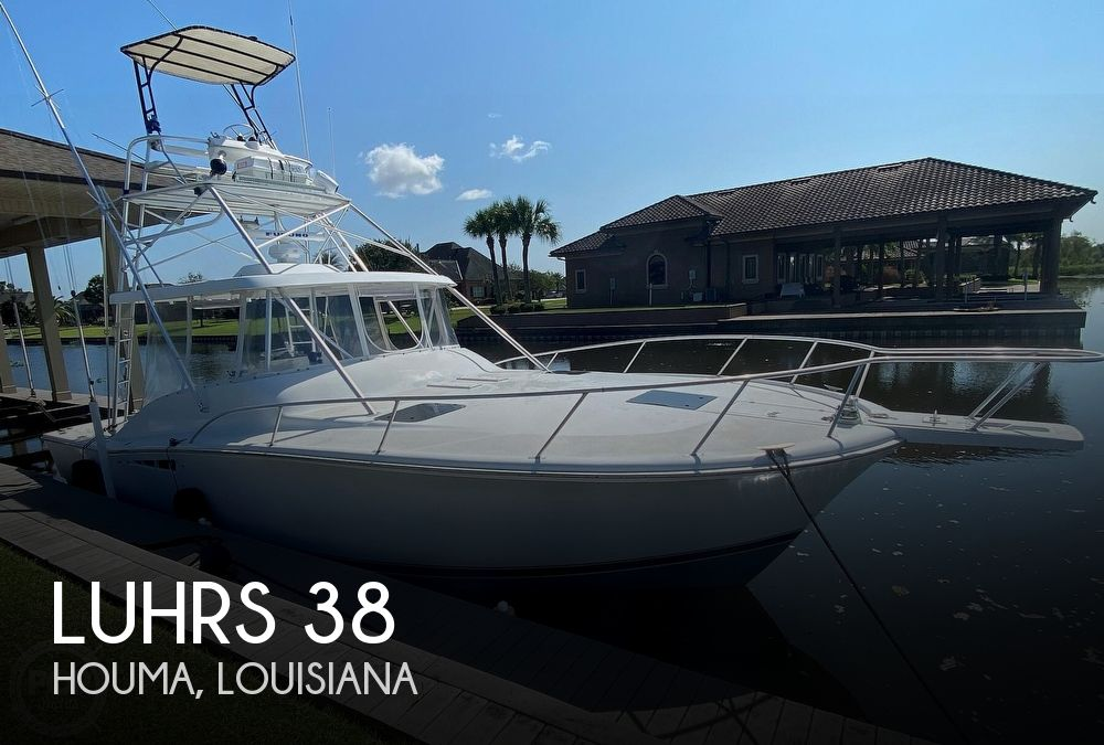 Used Luhrs Boats For Sale by owner | 1997 Luhrs Open Express 38