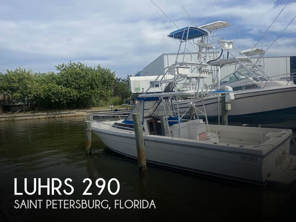 1990 Luhrs boat for sale, model of the boat is 290 Tournament & Image # 1 of 40