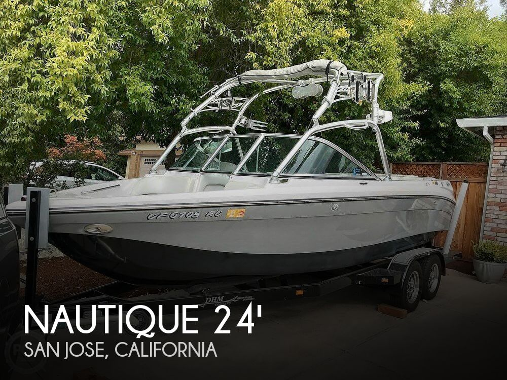 Used Power boats For Sale in Santa Cruz, California by owner | 2006 Nautique 24