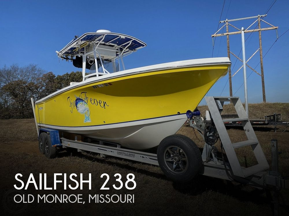 2004 SAILFISH 238 KINGFISH TOURNAMENT EDITION for sale