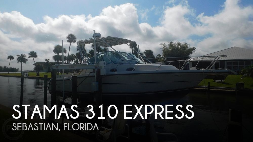 Used Stamas Boats For Sale by owner   1995 Stamas 310 Express