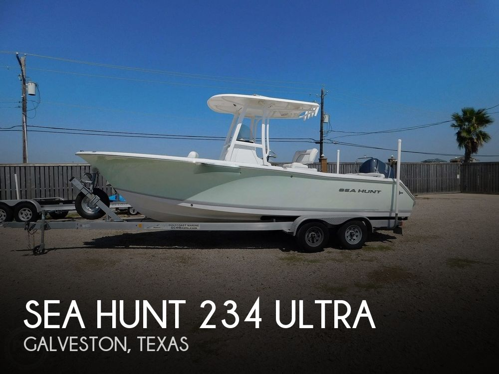 2015 Sea Hunt boat for sale, model of the boat is 234 Ultra & Image # 1 of 40
