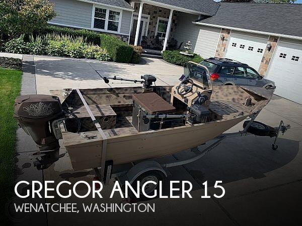 Used Gregor Boats For Sale by owner | 2013 Gregor Angler 15