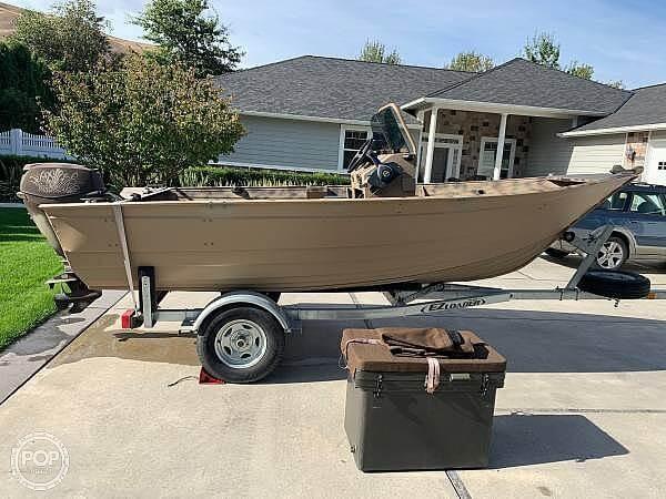 2014 Gregor boat for sale, model of the boat is Angler 15 & Image # 2 of 19