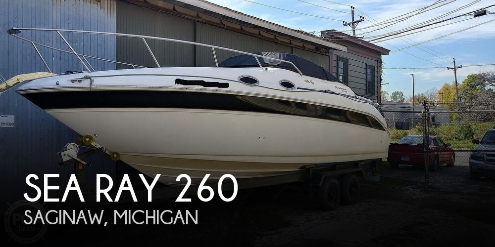 1999 Sea Ray boat for sale, model of the boat is 260 Sundancer & Image # 1 of 41