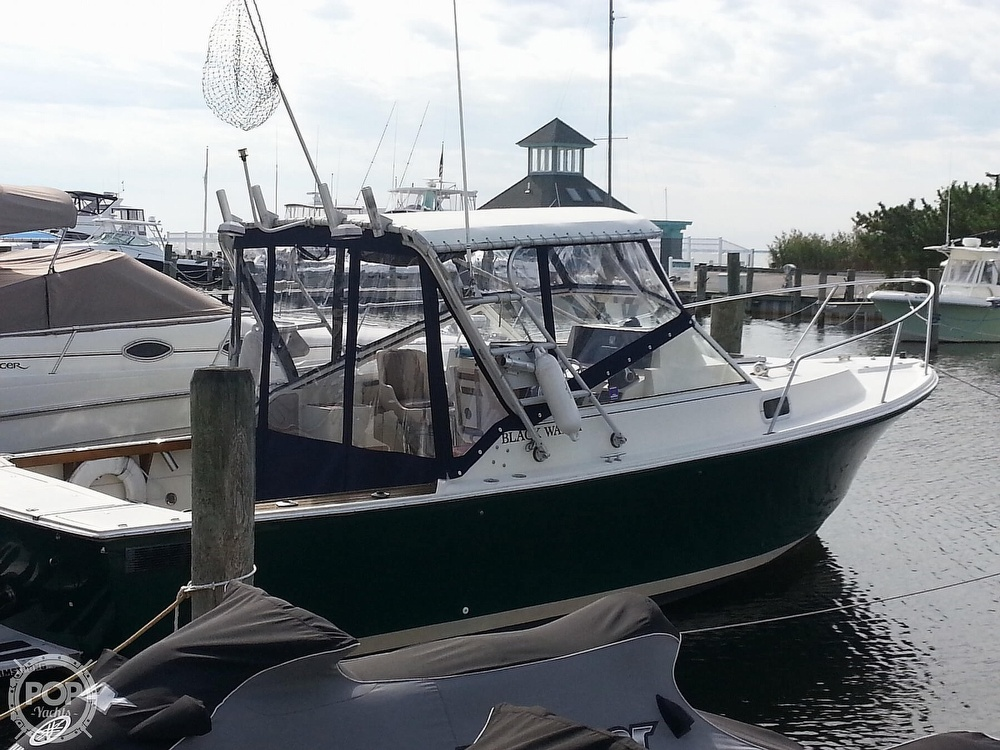1989 Black Watch boat for sale, model of the boat is 26 & Image # 2 of 40