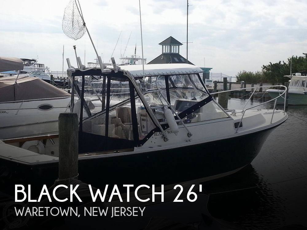 Used Black Watch Boats For Sale by owner | 1989 Black Watch 26'