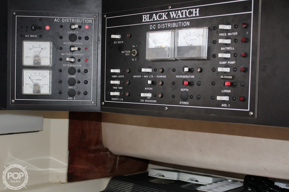 1989 Black Watch boat for sale, model of the boat is 26 & Image # 10 of 40