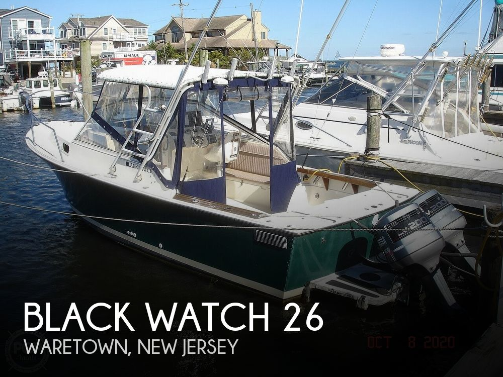 1989 Black Watch boat for sale, model of the boat is 26 & Image # 1 of 40