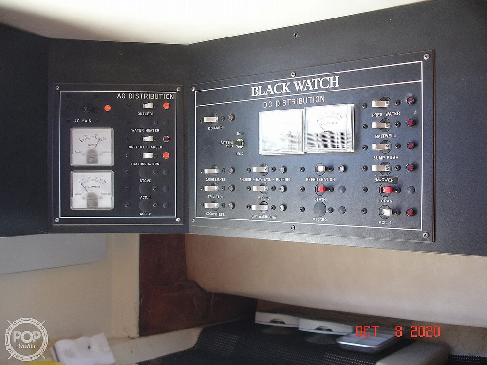 1989 Black Watch boat for sale, model of the boat is 26 & Image # 34 of 40