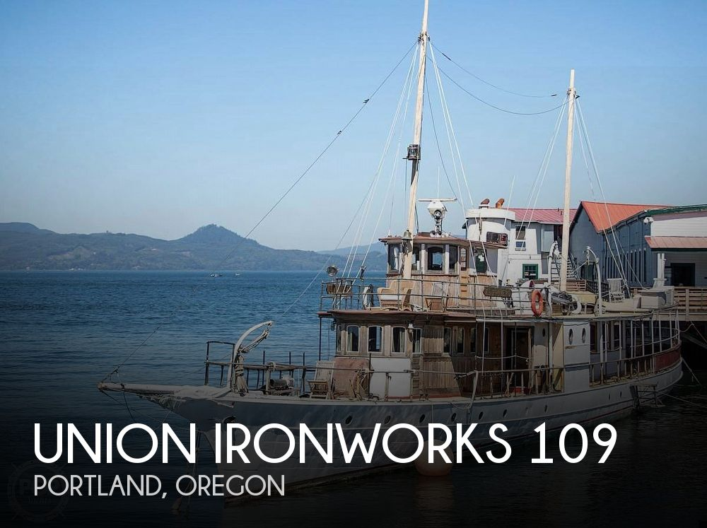 1893 Union Ironworks boat for sale, model of the boat is 109 & Image # 1 of 40