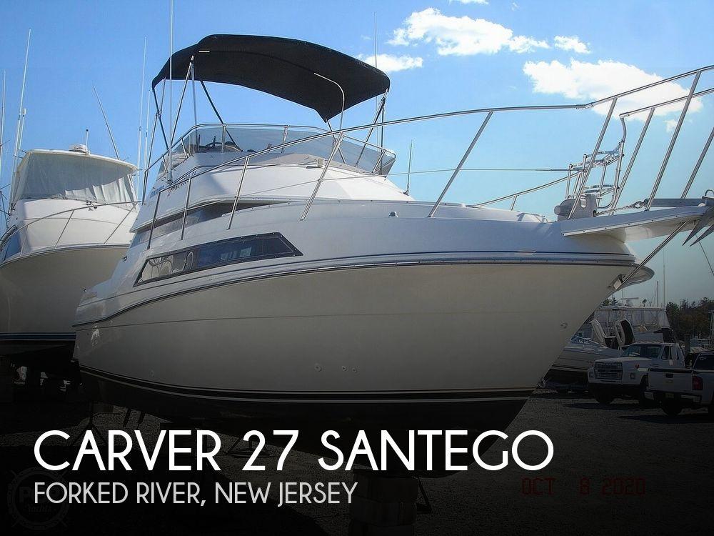 Used Carver Santego Boats For Sale by owner | 1992 Carver 27 Santego