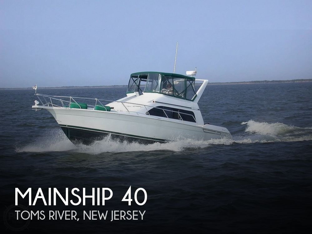1999 Mainship boat for sale, model of the boat is 40 Sedan Bridge & Image # 1 of 40