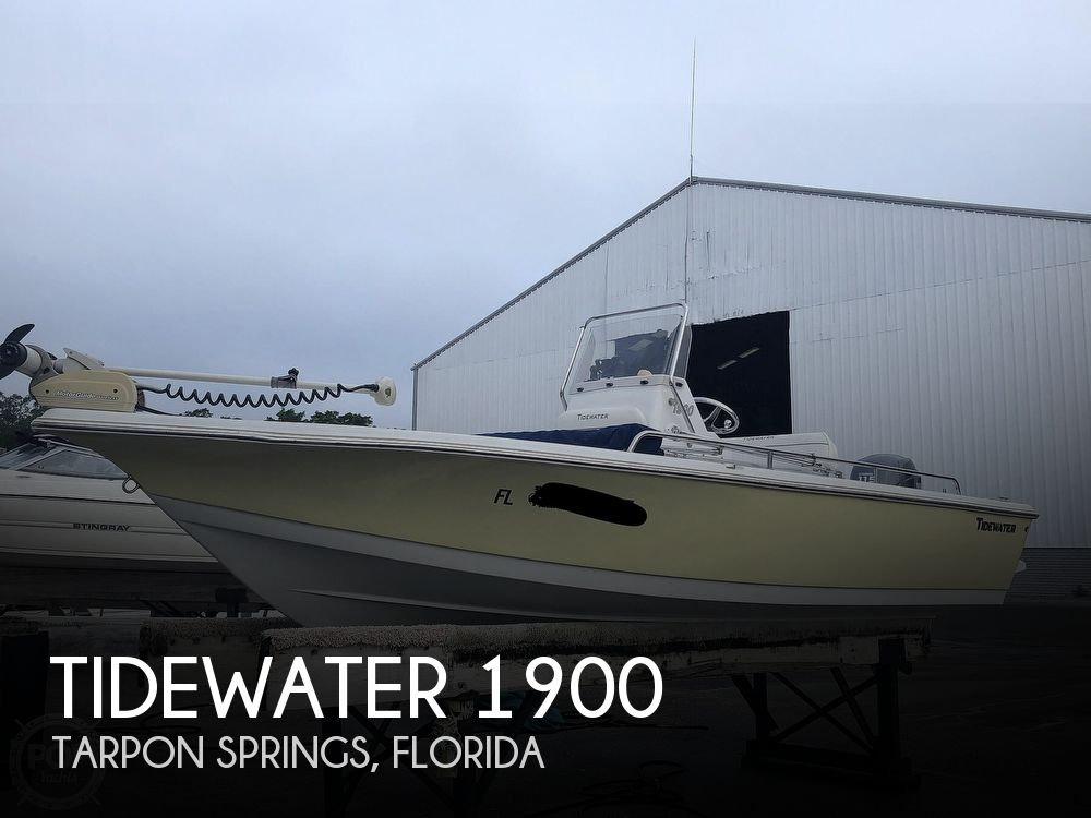 2009 Tidewater boat for sale, model of the boat is 1900 & Image # 1 of 40