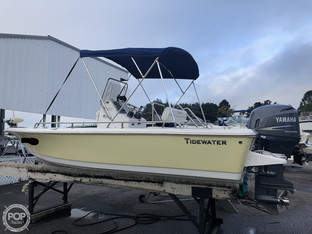 2009 Tidewater boat for sale, model of the boat is 1900 & Image # 13 of 40
