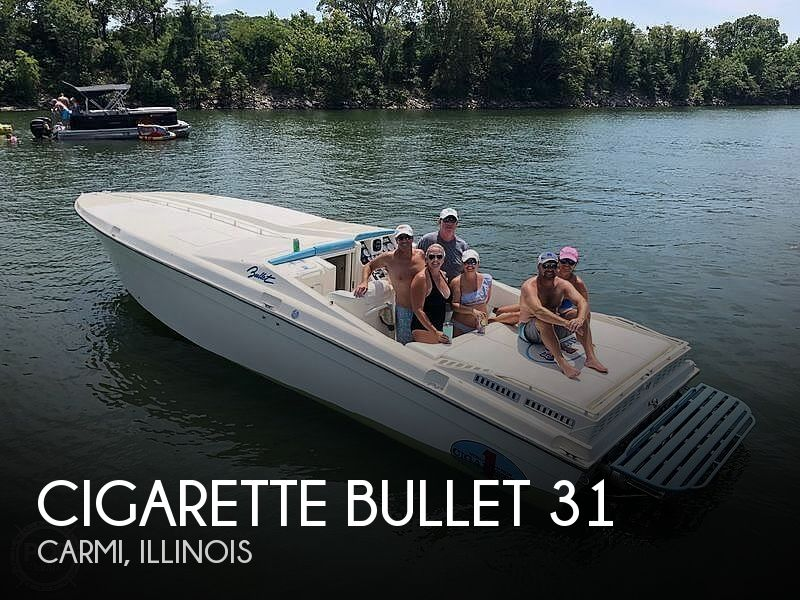 Used Boats For Sale in Evansville, Indiana by owner | 1988 Cigarette Bullet 31