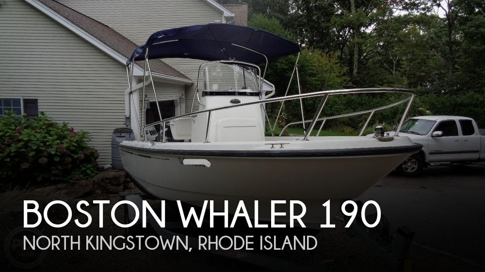 2004 Boston Whaler boat for sale, model of the boat is 190 Nantucket & Image # 1 of 41