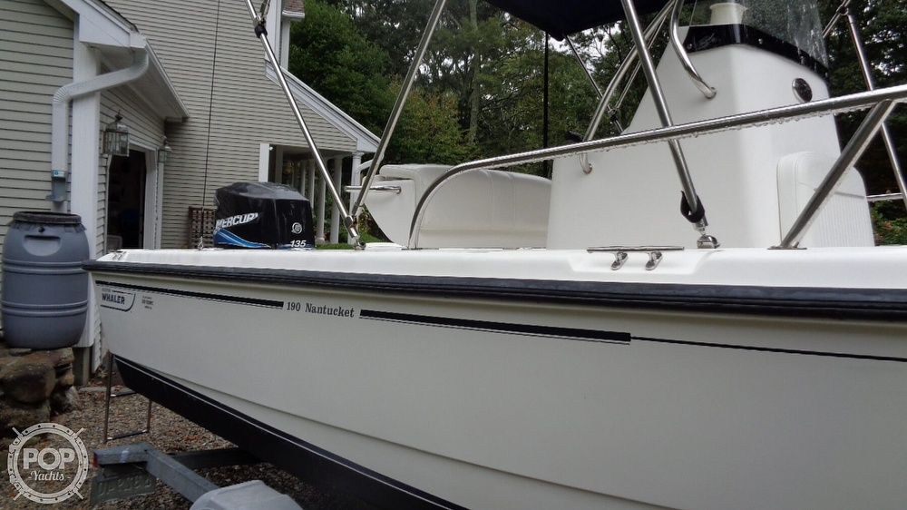 2004 Boston Whaler boat for sale, model of the boat is 190 Nantucket & Image # 21 of 41
