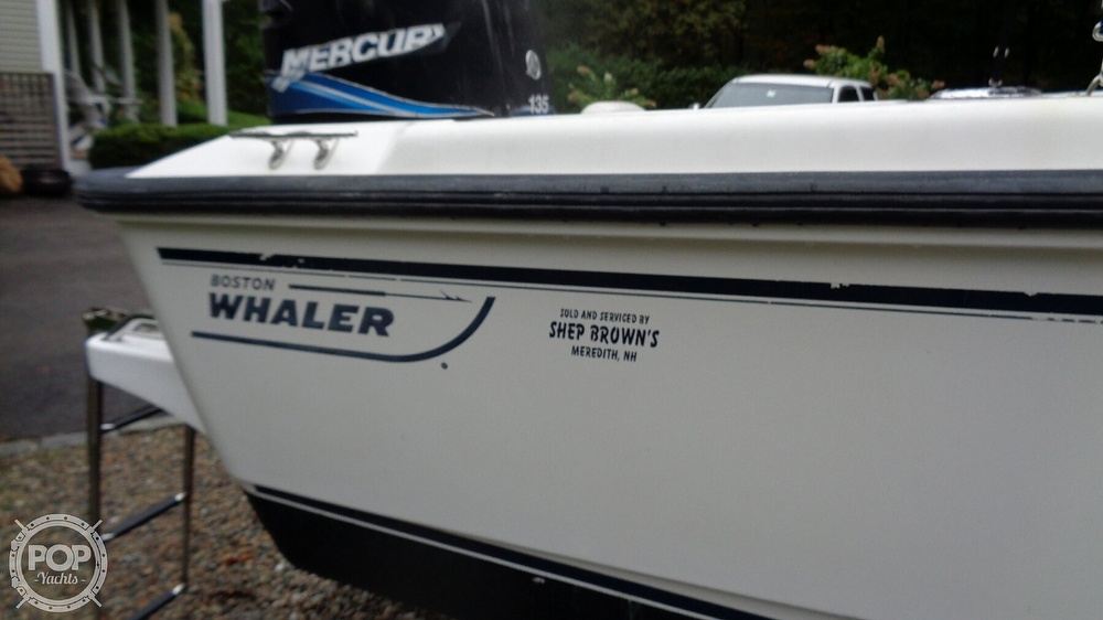 2004 Boston Whaler boat for sale, model of the boat is 190 Nantucket & Image # 23 of 41