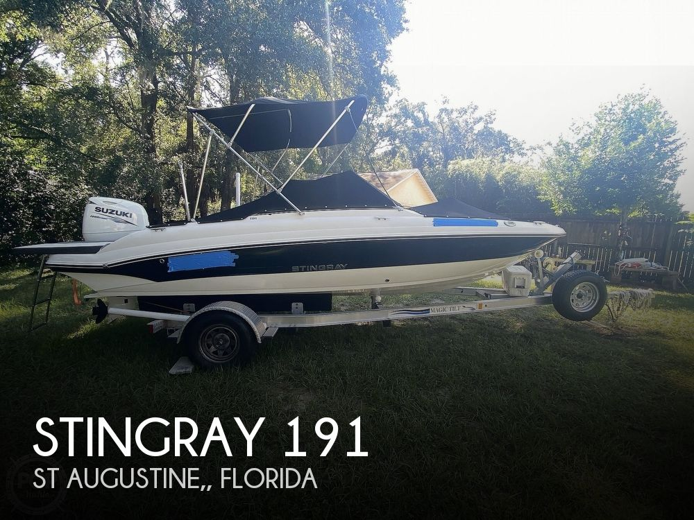 2016 Stingray boat for sale, model of the boat is 191 & Image # 1 of 40