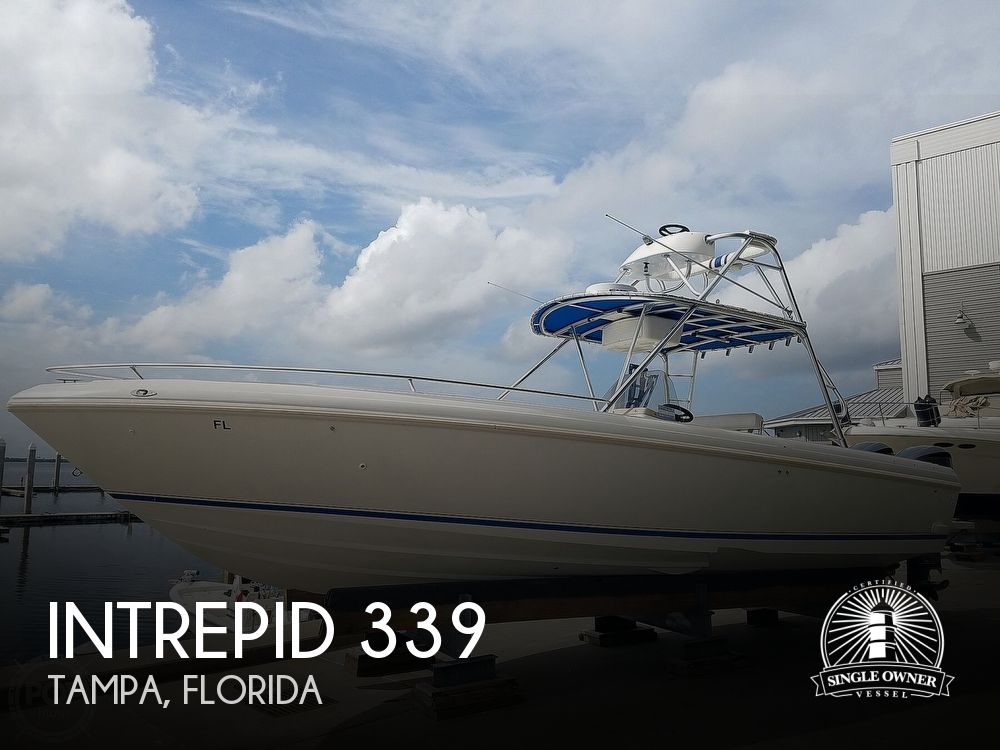 1998 INTREPID 339 CENTER CONSOLE for sale